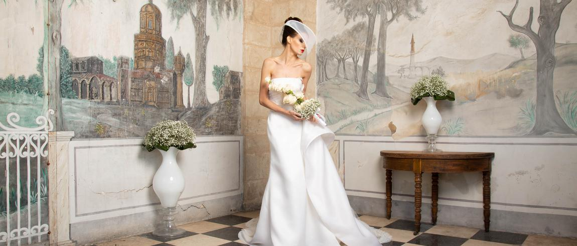 Bouquet flowers bride – wedding – Ragusa – Comiso
